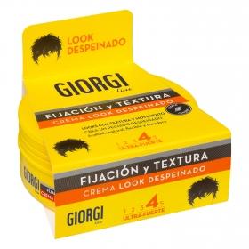 Crema de creación Look Despeinado ultra-fuerte Giorgi 125 ml.