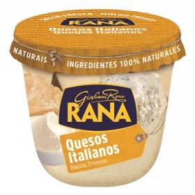 Salsa de quesos italianos para pasta rellena