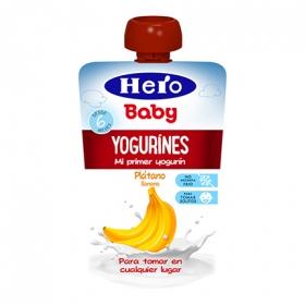 Yogurines de plátano en bolsita