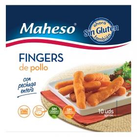 Fingers de pollo con pechuga entera