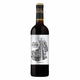 Vino D.O. Madrid tinto Sanz La Capital 75 cl.