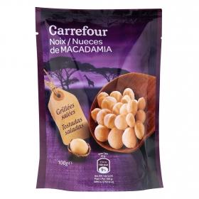 Nueces tostadas y saladas Carrefour 100 g.
