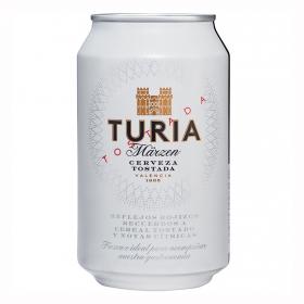 Cerveza Turia Märzen de Valencia tostada lata 33 cl.