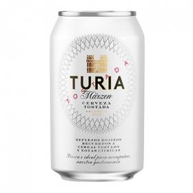 Cerveza Turia Märzen de Valencia tostada lata