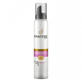 Espuma Rizos naturales Pantene 250 ml.