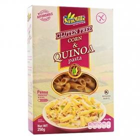 Plumas con quinoa sin gluten