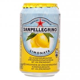 Bebida italiana Limonata gaseosa de limón