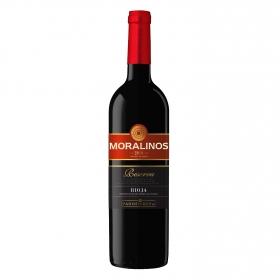 Vino D.O. Rioja tinto reserva Moralinos 75 cl.