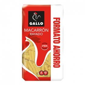 Macarrones rayados Gallo 750 g.