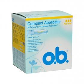 Tampones con aplicador Normal O.B. 16 ud.