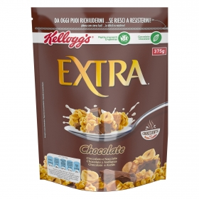 Cereales con chocolate belga y avellanas