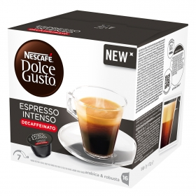 Cápsulas café intenso descafeinado