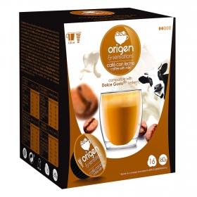 Café con leche cápsulas compatible con Dolce Gusto