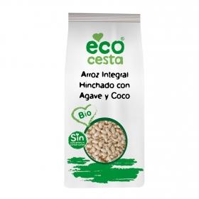 Arroz integral hinchado con ágave y coco bio