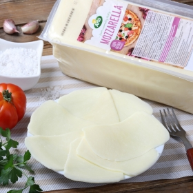 Queso mozzarela barra Arla Finello al corte 150 g aprox