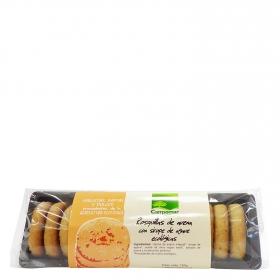 Rosquillas de avena con sirope de agave ecológicas Campoamor 150 g.
