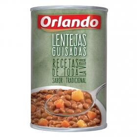 Lentejas guisadas Orlando 425 g.