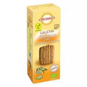 Galletas quinoa con canela y limón