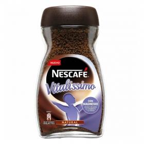 Café soluble natural con magnesio vitalissimo Nescafé 200 g.