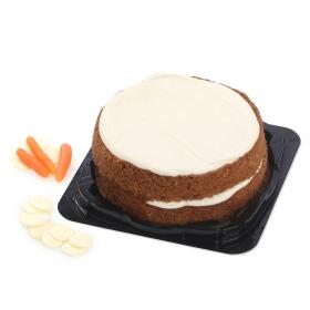 Tarta de zanahoria carrot cake Carrefour 500 g.