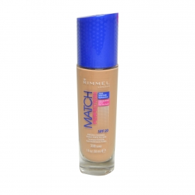 Base de maquillaje líquido Match Perfection nº 300 Sand Rimmel 1 ud.