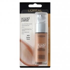 Maquillaje Accord Parfait 5D sable doré
