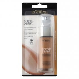 Maquillaje fluido Accord Parfait 7D Ambre Doré
