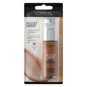 Maquillaje fluido Accord Parfait 8D Capuccino Doré