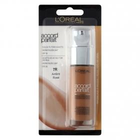 Maquillaje fluido Accord Parfait 7R Capuccino Doré