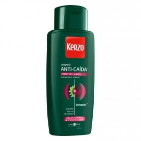 Champú fortificante anticaída para cabello normal Kerzo 400 ml.