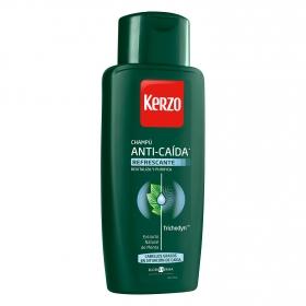 Champú fortificante anticaída para cabello graso Kerzo 400 ml.