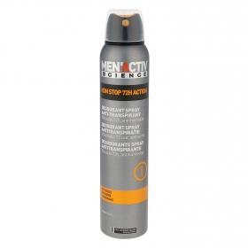 Desodorante en spray antitranspirante Les Cosmétiques -MenActiv' 200 ml.