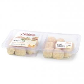 Albondigas de pollo empanadas Aldelis bandeja 420 g