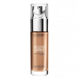 Maquillaje fluido Accord Perfect 6 N Miel L'Oréal 1 ud.