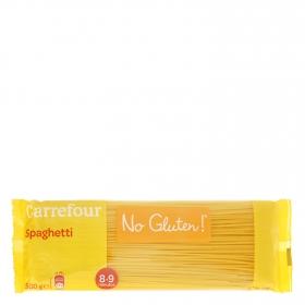 Espaguetis Carrefour-No gluten 500 g.