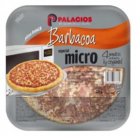 Pizza barbacoa Palacios 225 g.