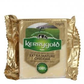 Queso cheddar blanco extra-curado irlandés Kerrygold 200 g