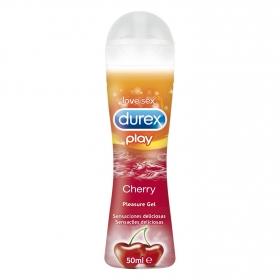 Lubricante Play Cherry Durex 50 ml.