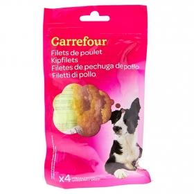 Carrefour Snacks para Perro de Pollo 80g