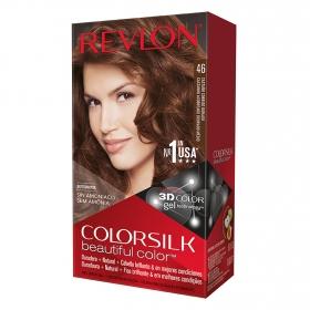 Tinte Colorsilk nº 46 Castaño Cobrizo Dorado