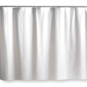 Cortina de Baño de PVC  140x180 cm - Blanco