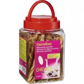 Carrefour Snacks para Perros de Buey 100 Unidades