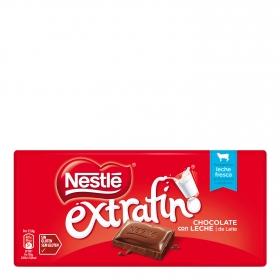 Chocolate con leche extrafino Nestlé sin gluten 125 g.