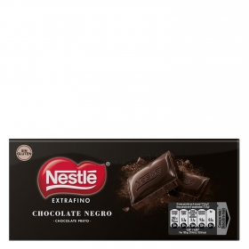 Chocolate negro extrafino Nestlé sin gluten 125 g.