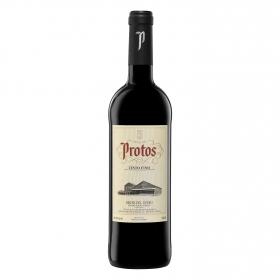 Vino D.O. Ribera del Duero tinto fino Protos 75 cl.
