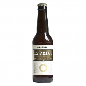 Cerveza La Salve original botella 33 cl.