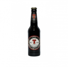 Cerveza Tennent's Stout botella 33 cl.
