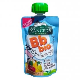 Yogur de frutas ecológico Casa Grande de Xanceda en bolsitas 95 g.