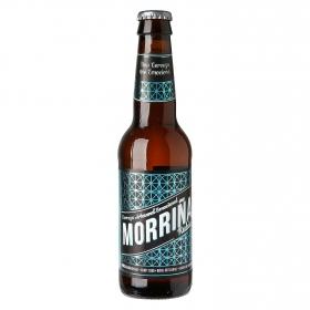 Cerveza artesana Morriña rubia botella 33 cl.