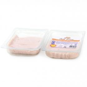 Pechuga de pollo loncha fina ElPozo bipack (2x200g) envase 400 g